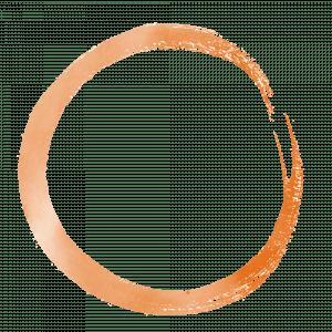 Qigong Orange Circle logo 1